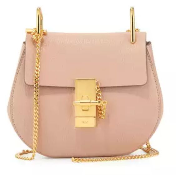 Chic Chloe Mini Lambskin Shoulder Bag