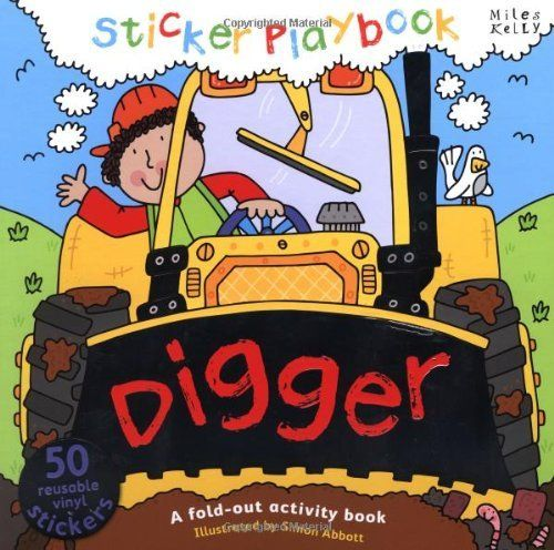 Digger Sticker Playbook Playbooks Http Www Amazon Co