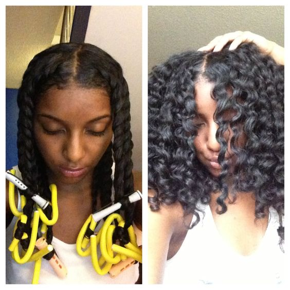 Astounding Braid Out Natural Hair And Two Strand Twists On Pinterest Hairstyles For Men Maxibearus