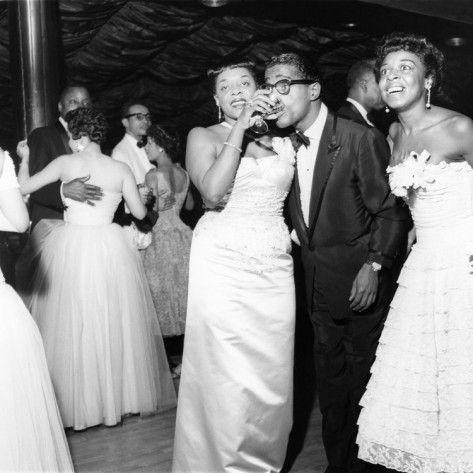 Dinah Washington and Sammy Davis Jr.