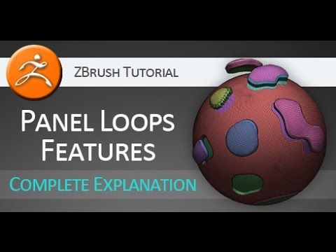 A Pixologic ZBrush tutorial with complete explanation of Panel Loops features. Support this channel by becoming a patron. http://www.patreon.com/3dtutsam htt...