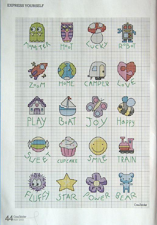 kuchenschranke judith : Make into Buttons... Gallery.ru / Photo # 30 - CrossStitcher_252_2012 ...