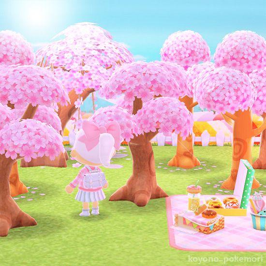 Animal Crossing Trees Sakura Animal Crossing Animal Crossing Characters Animals