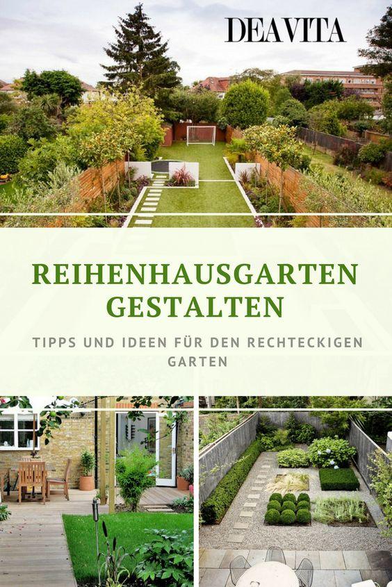 Trotz seiner geringen Fläche bietet ein Reihenhausgarten deutlich