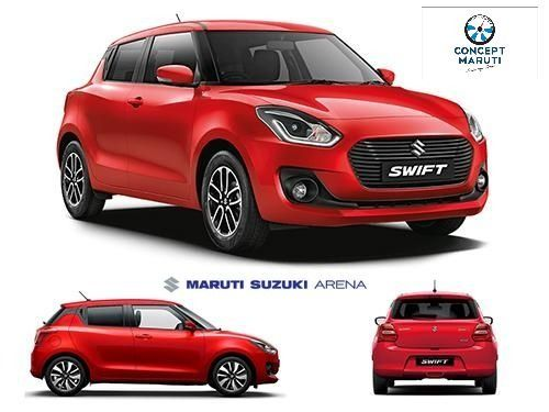 Maruti Suzuki Swift Starts From 5 14 Lakh You Can Get This From Concept Cars At Affordable Price The Maruti Suzuki Swift On Road Pric Suzuki Bikes Suzuki Car