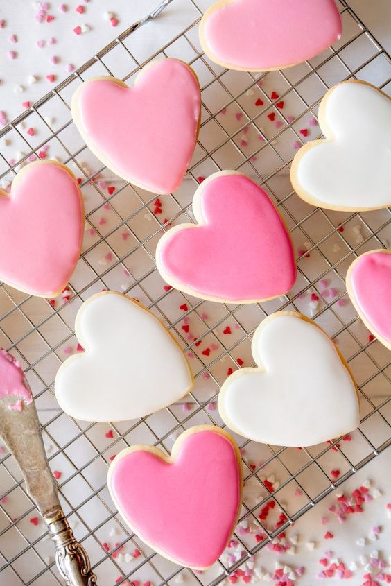 Simple heart shaped cookie recipes