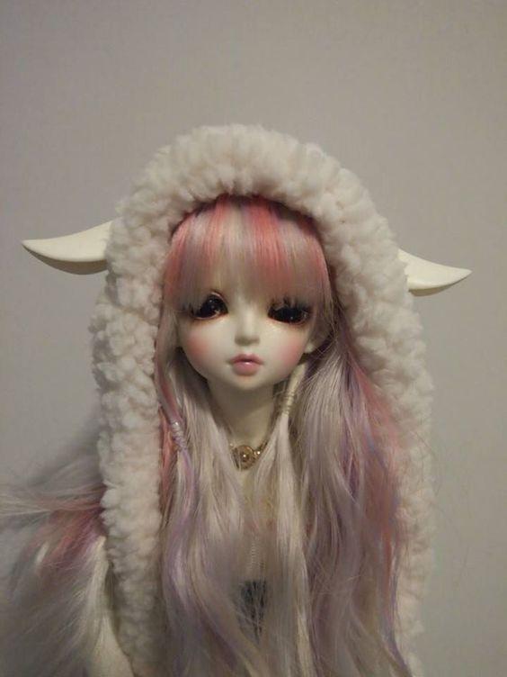 Fairyland Rin Fullset. White skin, she's got faceup by Fairyland