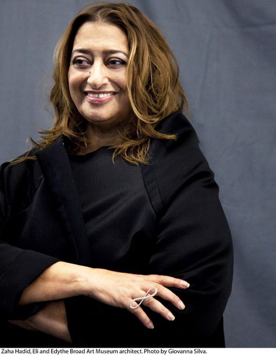 Zaha Hadid, architect I wonder what the haters will say about her now?