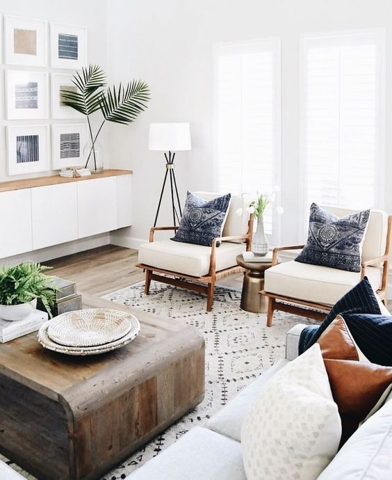 How To Create A Scandinavian Bohemian Living Room Small Modern