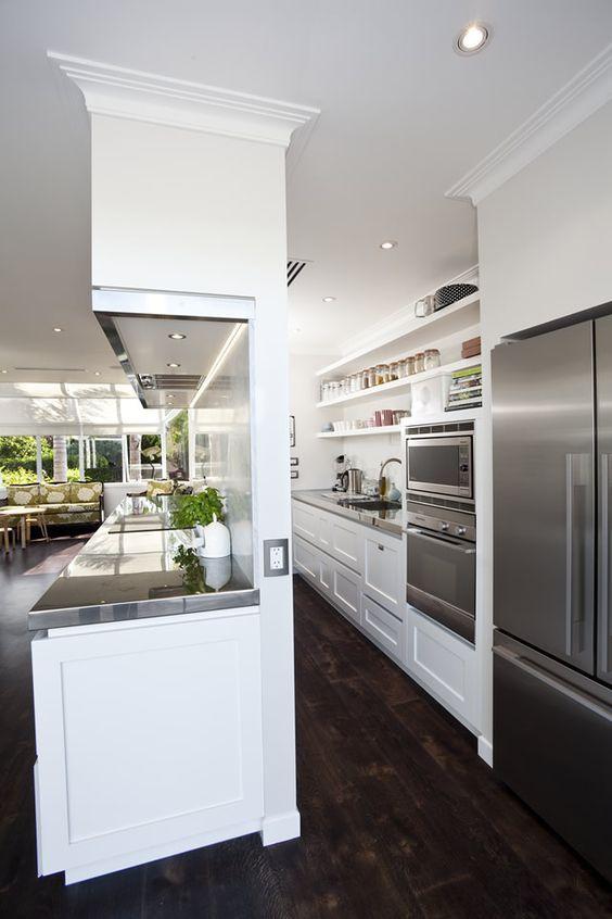 パントリー キッチン裏 I型 オープンキッチン すっきり アイデア プラン 設計