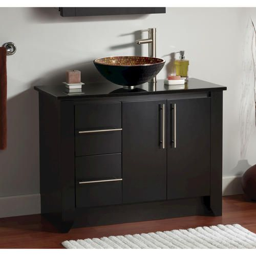 Small Bathroom Vanities Menards : Magick woods quot kube collection vanity base at
