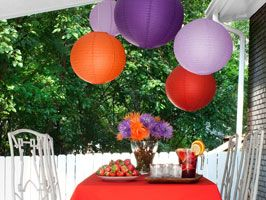 HGTV's Outdoor Entertaining Guide - everything you need to host an amazing summer party!   #recipes #cocktails #centerpieces