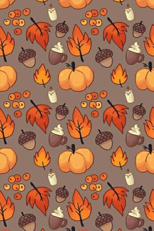 Image Result For Fall Cartoon Backgrounds Autumn Phone Wallpaper Fall Wallpaper Thanksgiving Wallpaper
