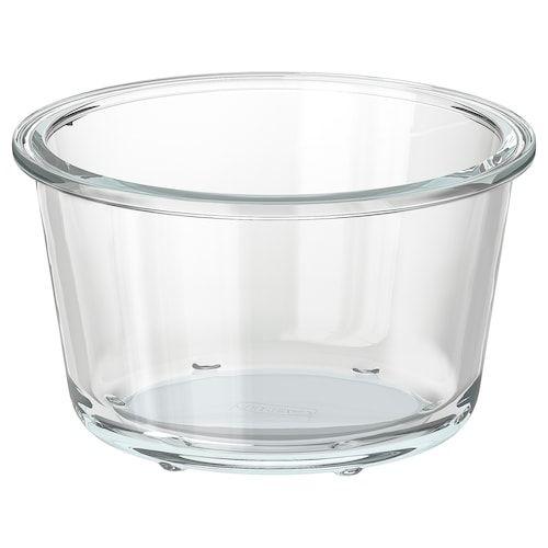 Ikea 365 Food Container Rectangular Glass Length 8 Width