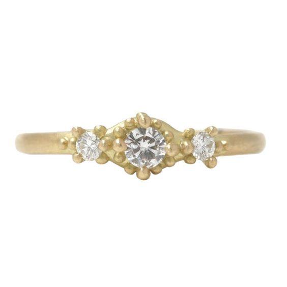 Marian Maurer Ariel Ring Under $1,500 via @BRIDES