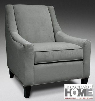 TheRoomPlace.com - Somerville Blue Upholstery Chair