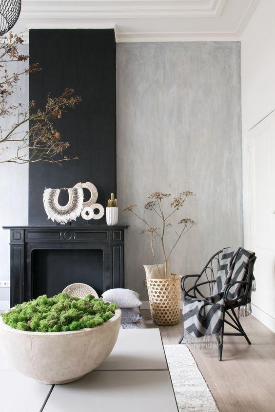 Op Deze 4 Manieren Kan Je Een Ouderwetse Schouw Weer Helemaal Modern Maken Gave Kamers Woonkamer Thuisdecoratie