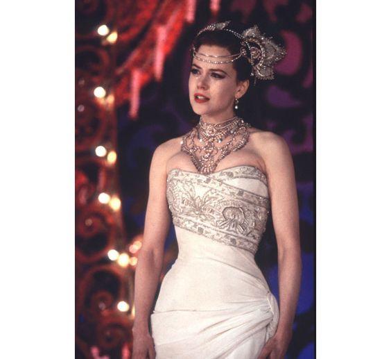 Nicole Kidman dans le film Moulin Rouge de Baz Luhrmann en 2001 - Bride - wedding dress