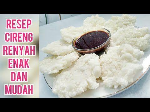 Resep Cireng Renyah Enak Dan Gampang By Uli S Kitchen Youtube Makanan Ringan Manis Resep Makanan Penutup Makanan