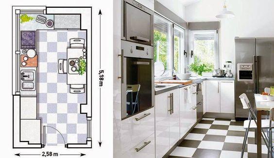 [Decotips] 4 Tips para decorar cocinas pequeñas   Decorar tu casa es facilisimo.com