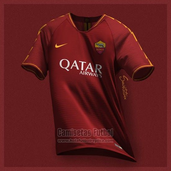 Camiseta AS Roma Primera 2019-2020 | futbol replicas