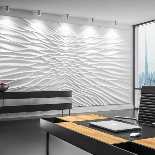 Modern Interior Design Luxury Office Decorative Wall Panels With Threedimensional Acoustic Texture Decorative Wall Panels Textured Wall Panels 3d Wall Panels