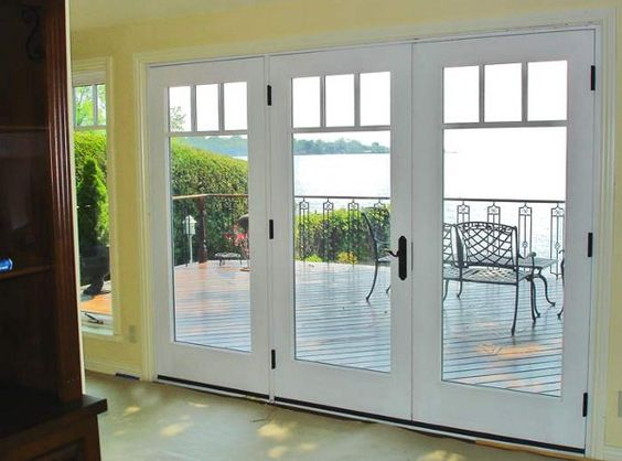 As an alternate to the colonial grille what about this for Craftsman french doors