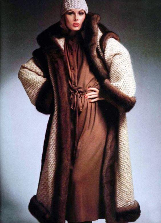 Fashion by Christian Dior, 1975.
