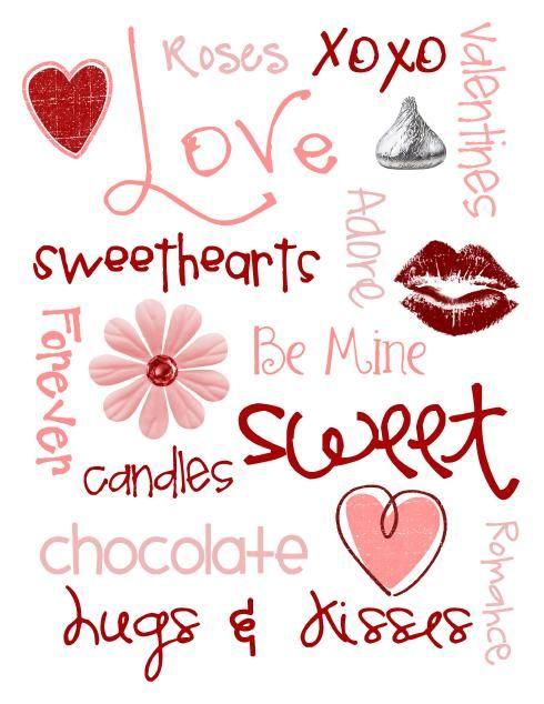 Valentine's Printable: