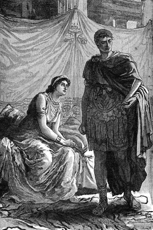 julius caesars relationship with his family