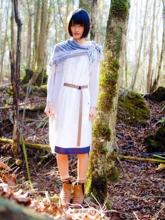 森の中にいる橋本愛