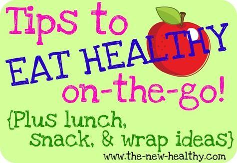 healthy on the go