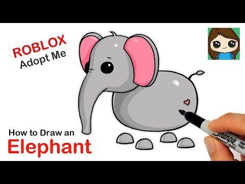 Draw So Cute Youtube In 2020 Cute Cartoon Drawings Elephant Drawing Cute Drawings