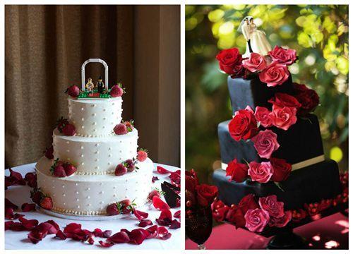 Hochzeit in Rot – die Farbe der Liebe! | Brautkleidershow - Günstige Brautkleider & Hochzeitsidee