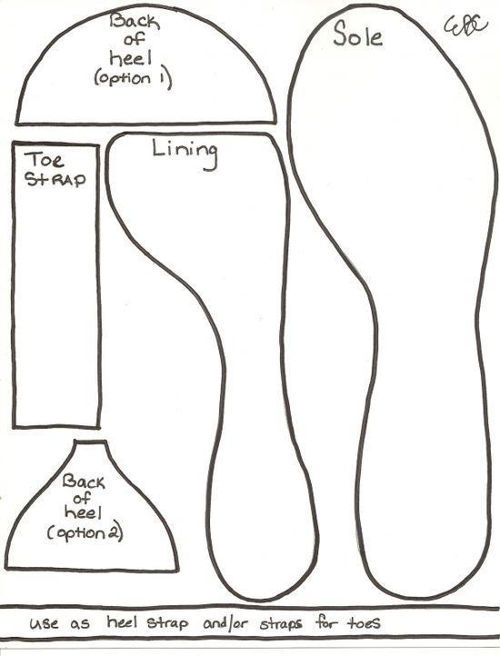 Vorlage High Heel