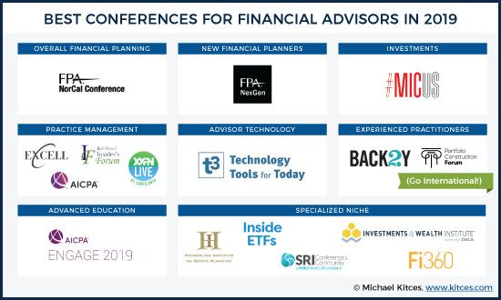 16 Best Conferences For Top Financial Advisors In 2019 Financial Advisors Financial Financial Planner