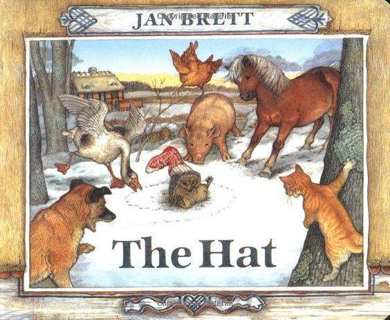 Hat jan brett countdown to christmas books pinterest jan brett