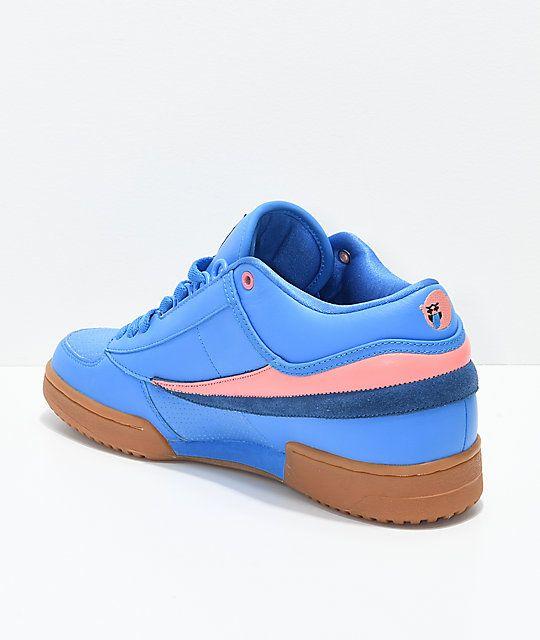 FILA x Pink Dolphin T1 Mid Blue \u0026 Gum