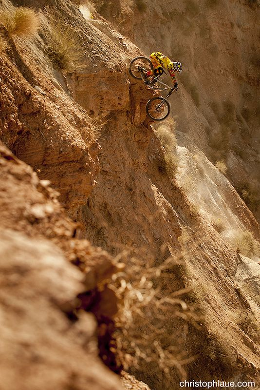 Logan Binggeli at Red Bull Rampage in Virgin, Utah, United States - photo by Laue - Pinkbike