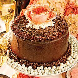 Fudge Glazed Icebox Cake