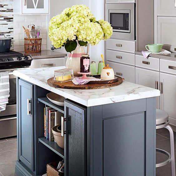 Best Paint For Kitchen Cabinets Lowes: Paint Your Island A Different Color From The Rest Of Your