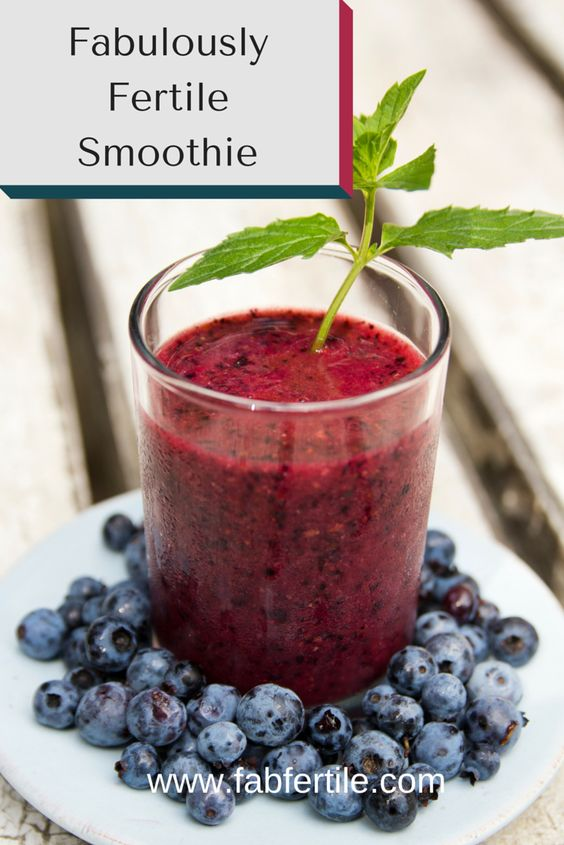 Smoothie that boosts your fertility. Gluten-free and vegan. This smoothie is for you if you are TTC and want to boost your fertility naturally.