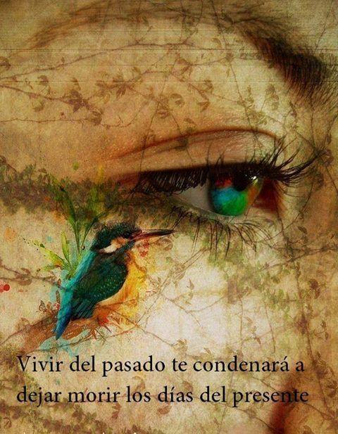 Vivir del pasado te condenará a dejar morir los días del presente*