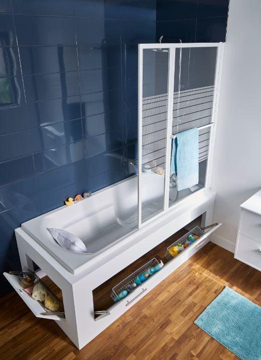 fabriquer un tablier de baignoire avec