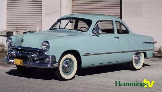 1951 Ford Custom DeLuxe club coupe,