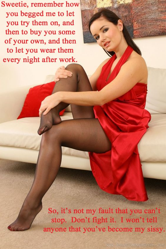 Pantyhose for sissy