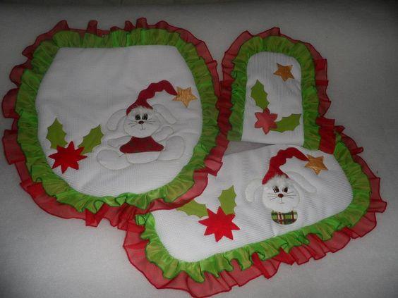 Baño Navideno Navidad:JUEGOS DE BANO NAVIDENOS