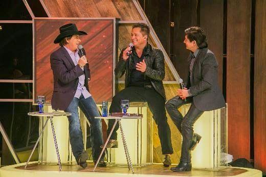 PORTAL JORGE GONDIM: Leonardo e seu filho Zé Felipe são convidados do F...Leonardo relembra a parceria com o irmão Leandro
