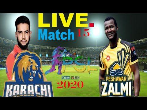Pishawar Zalmi Vs Karachi Kings Psl 2020 Ii Psl2020 Ii Psl Live Match On In 2020 Live Matches Psl Live Psl