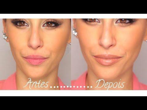 Como tornar os lábios maiores - YouTube